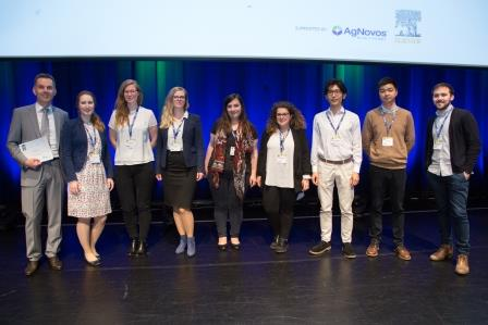 ECTS 2017 Travel Award group