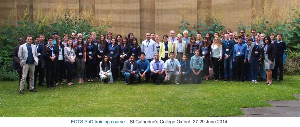ECTS_PhD_Training-Oxford-2014